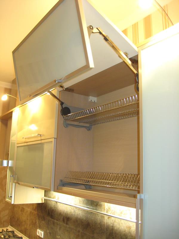 Подъемный механизм для кухонных фасадов своими руками
